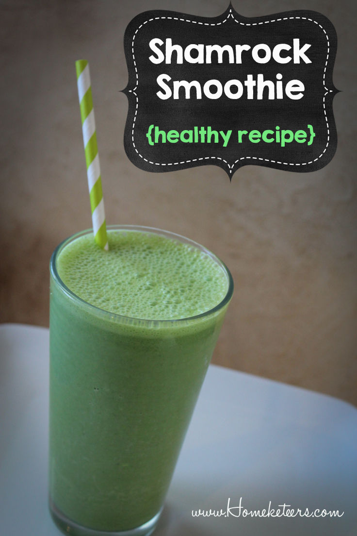 shamrock smoothie healthy recipe