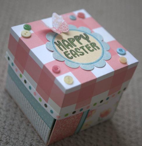Easter Exploding Box