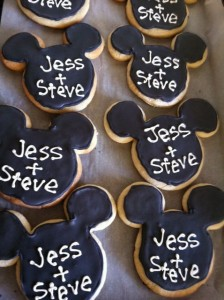 The mickey cookies